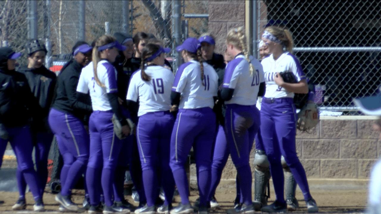 Carroll College softball sweeps Northwest University Friday