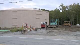 SD1 water tanks flooding