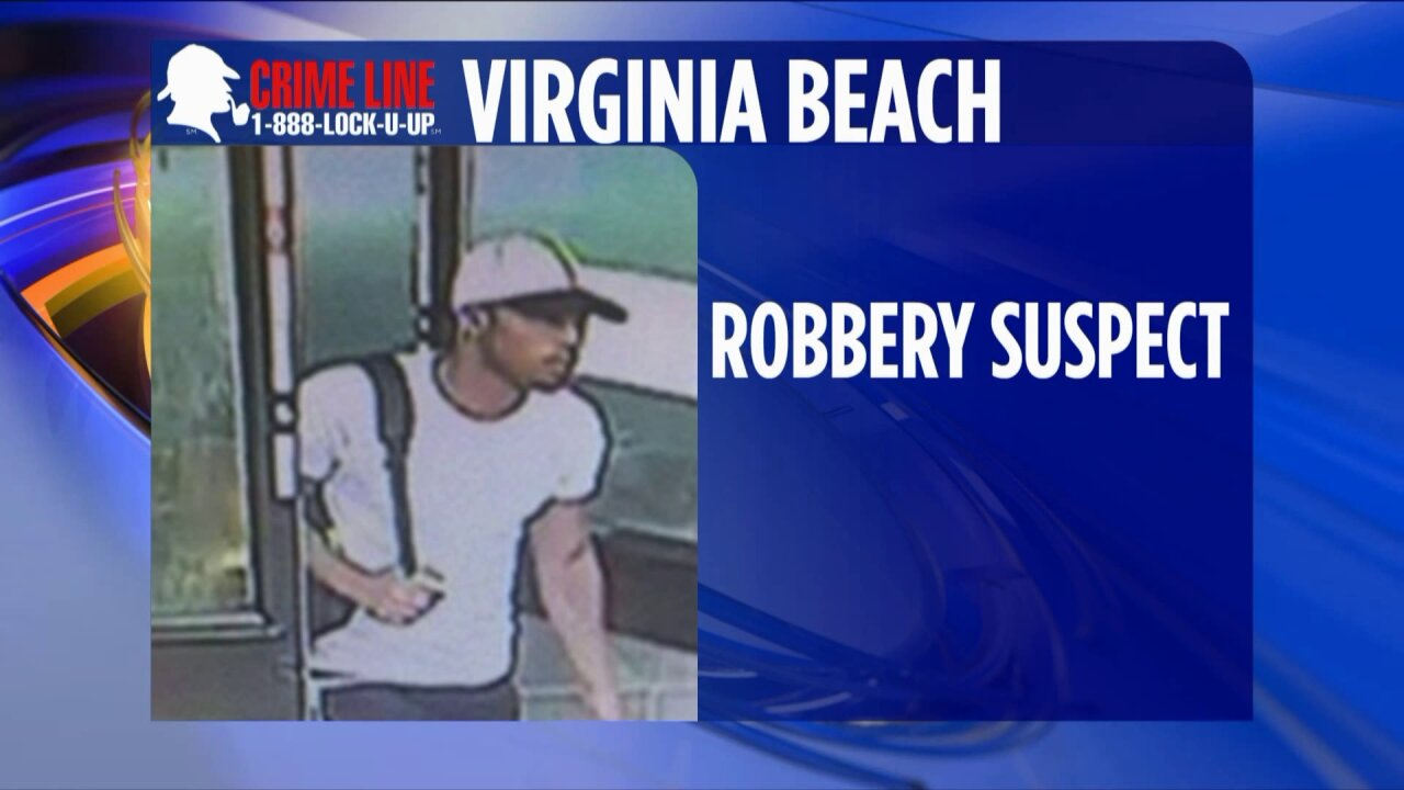 Virginia Beach Police need help identifying 7-Eleven robbery suspect