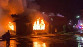 New Jersey steakhouse destroyed by fire