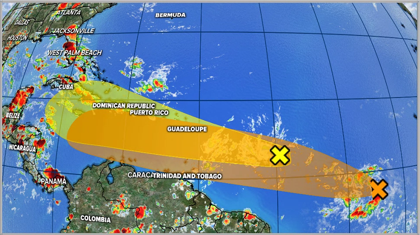 Invest 95-L and Invest 97-L
