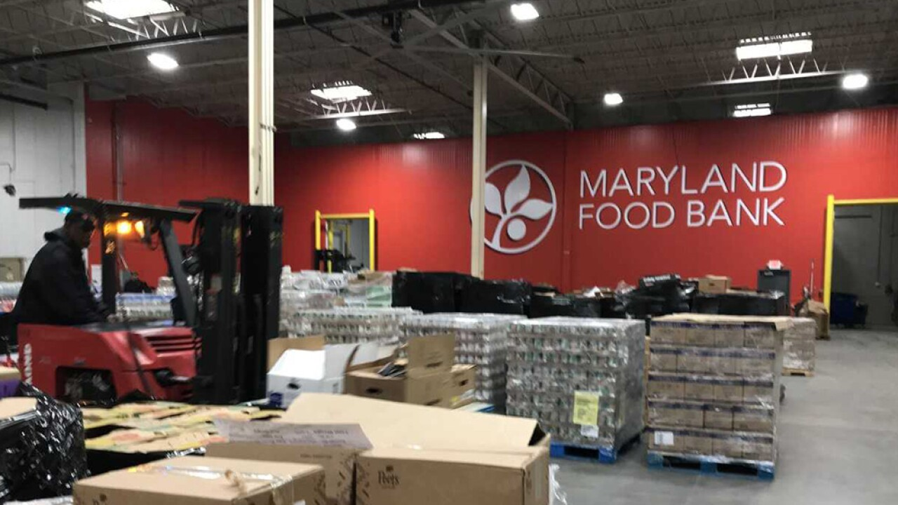 Shutdown could strain Maryland Food Bank