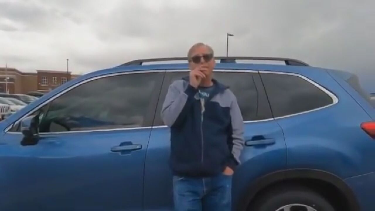 Man shows up to meet a 15-year-old boy in a department store parking lot