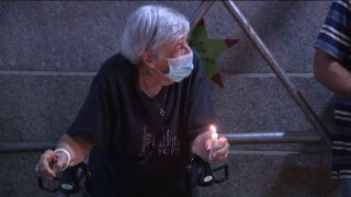 upper west side homeless vigil
