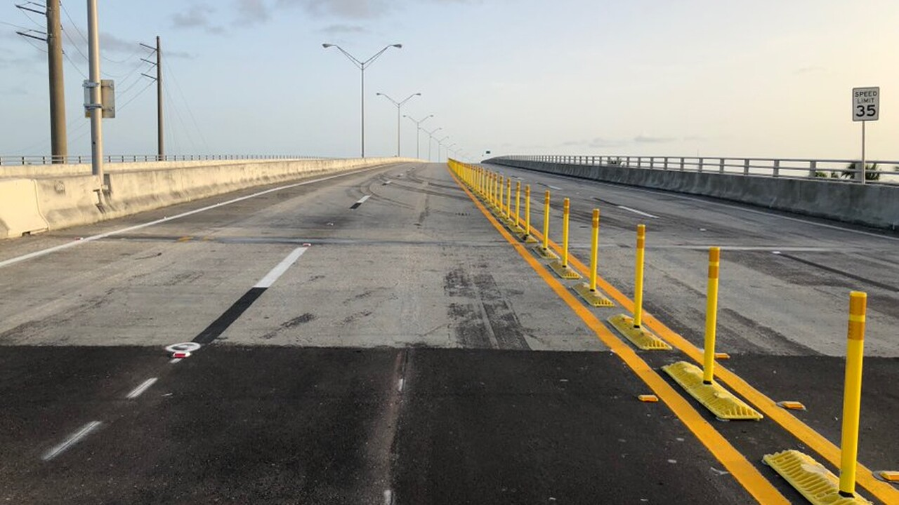 The Roosevelt Bridge in Stuart has reopened to traffic.