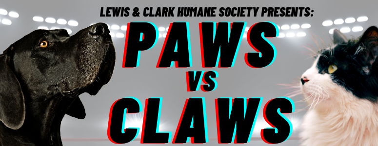 LCHS Paws vs Claws fundraising challenge