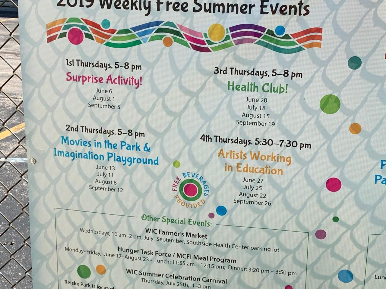 Reiske Park Events