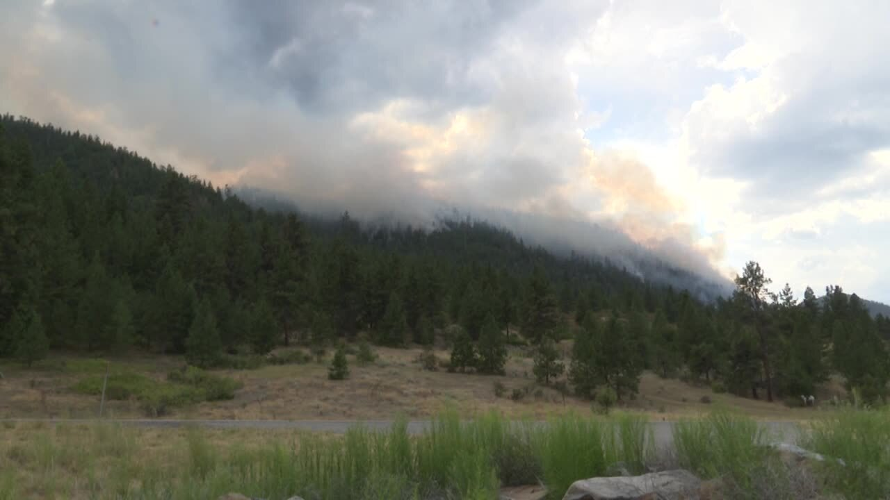 Magpie Rock Fire grows to 3,100 acres
