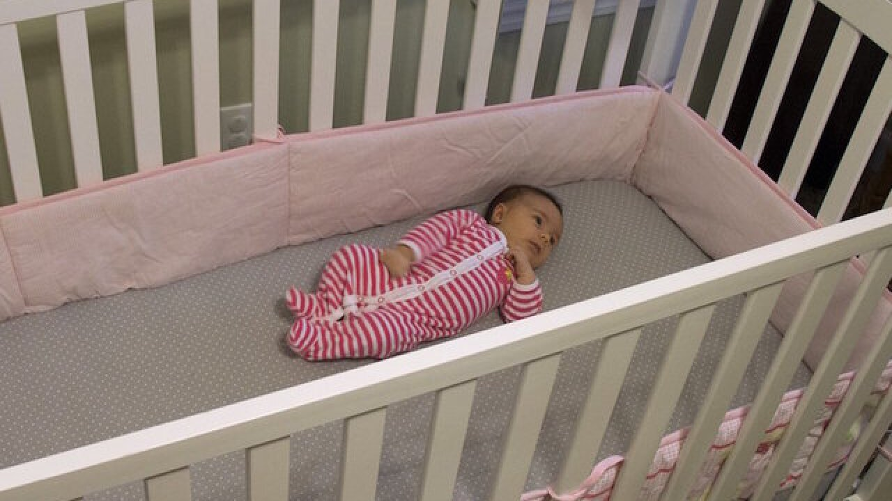 Most moms aren't putting babies to sleep safely, study says