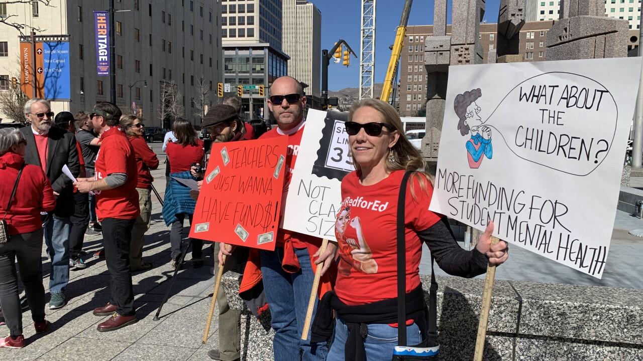 Teacher's union walkout