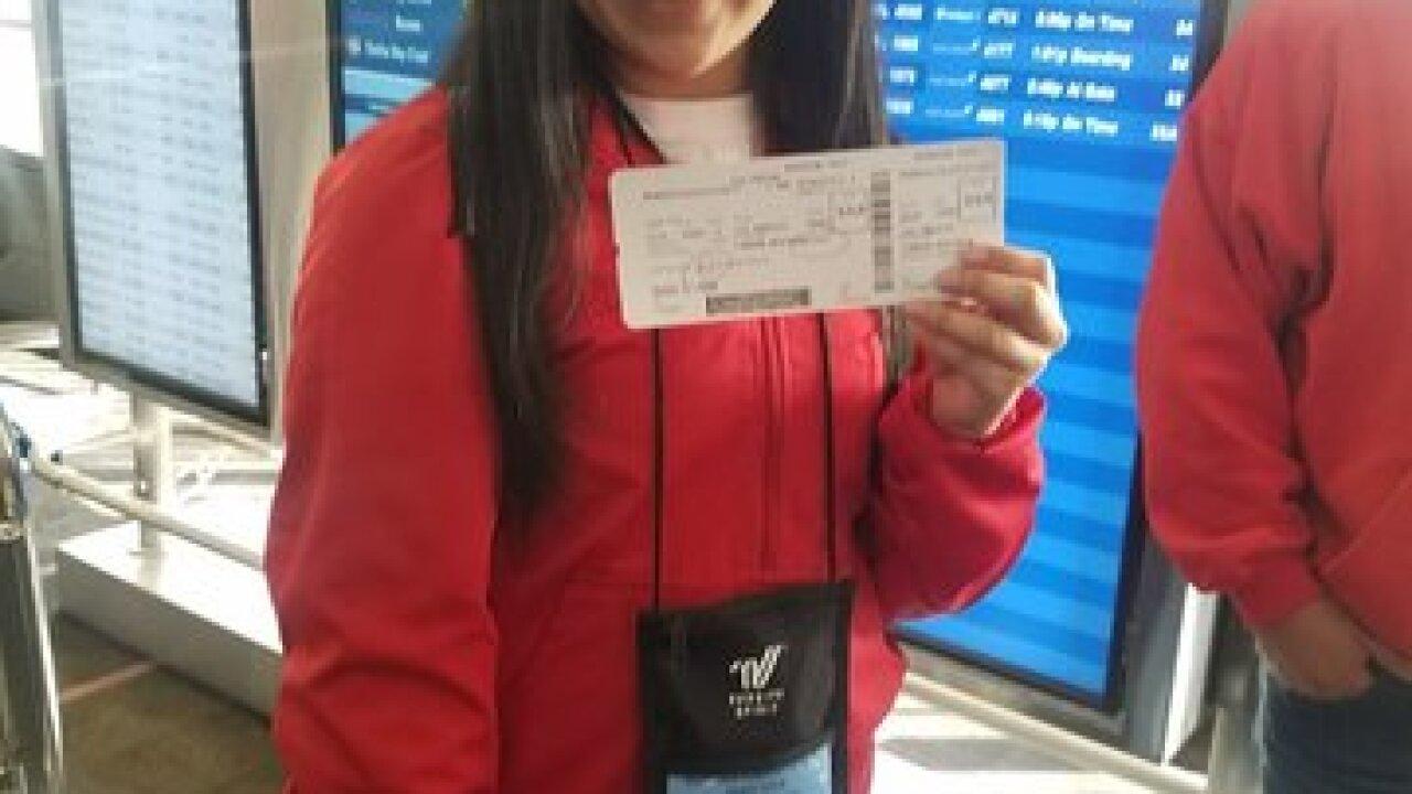 McFarland HS cheerleader headed to London