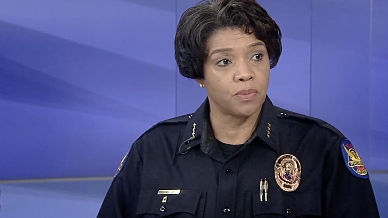 KNXV Phoenix Police Chief Jeri Williams in Studio