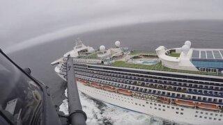 Cruise passengers off California await virus test results