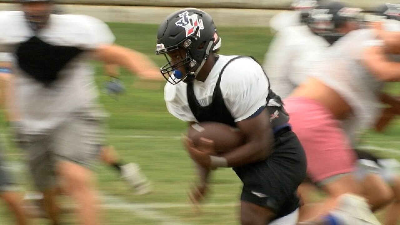 Leavenworth's Ja'hawn Byrd runs wild