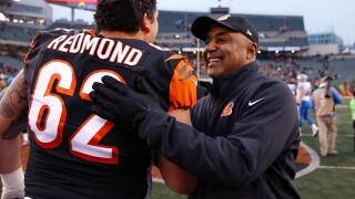 Bengals coach Marvin Lewis still coy about future after win