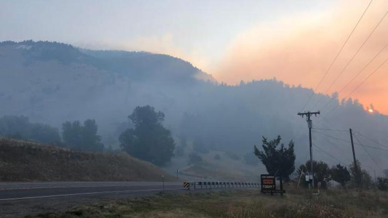 Sheriff confirms 28 residences lost in Bridger Foothill Fire