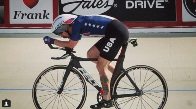 PHOTOS: Kansas cyclist trains hard, wins big