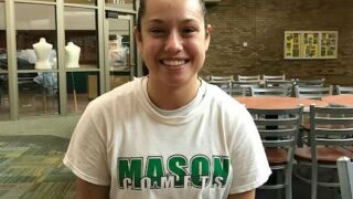 Mason basketball player Megan Wagner has a natural tendency to help others