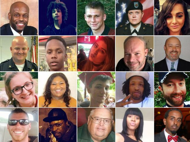 PHOTOS: The Faces of 2017's Homicide Victims