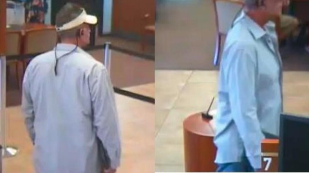Suspect in Wells Fargo robberies sought