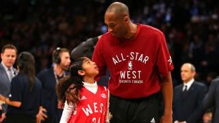 Gianna Bryant, Kobe Bryant 2016 NBA All-Star Game