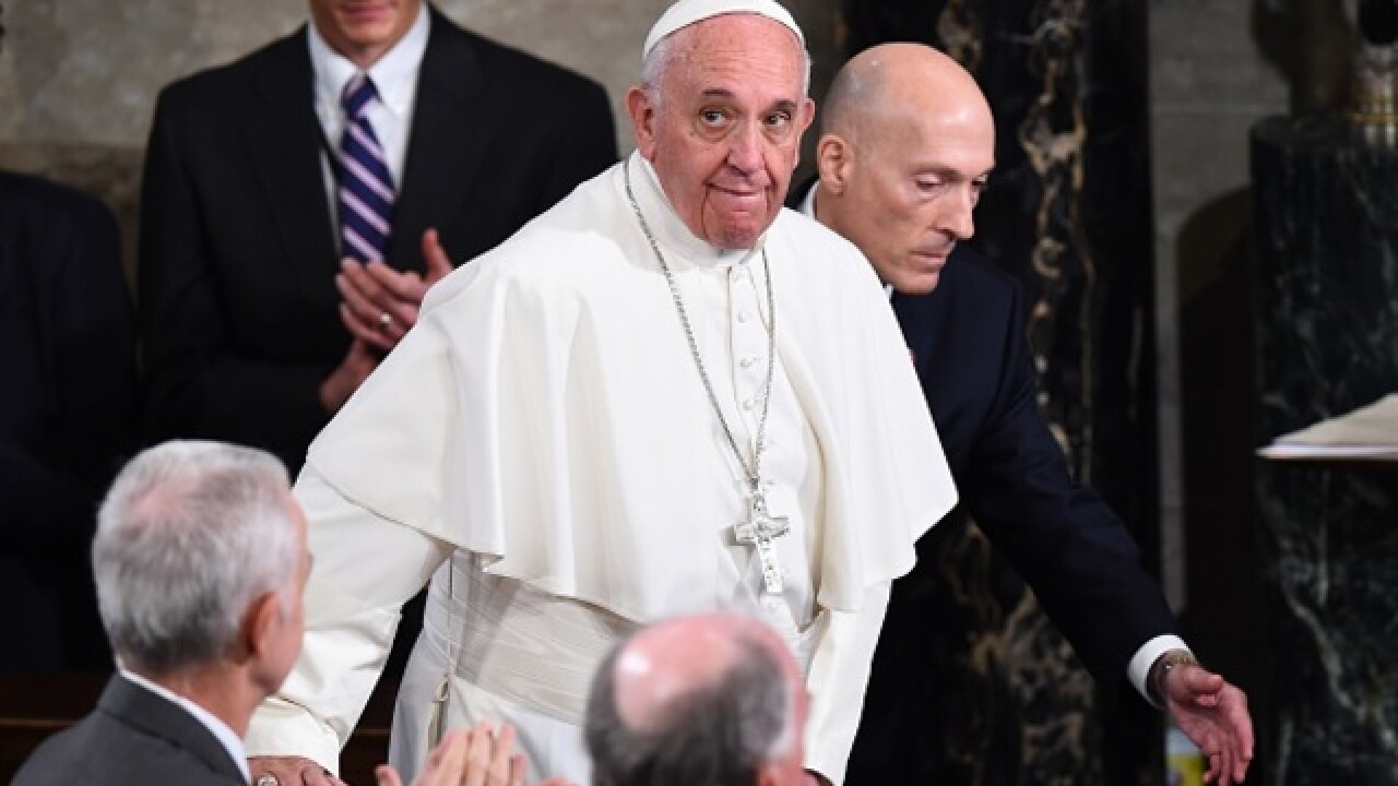 Pope visits NYC after historic talk to Congress