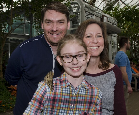 Krohn Conservatory's 2017 International Butterfly Show