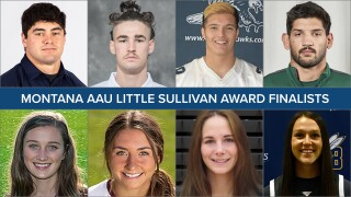 2021 Montana AAU Little Sullivan Award finalists