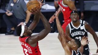 Raptors Nets Basketball NBA Playoffs
