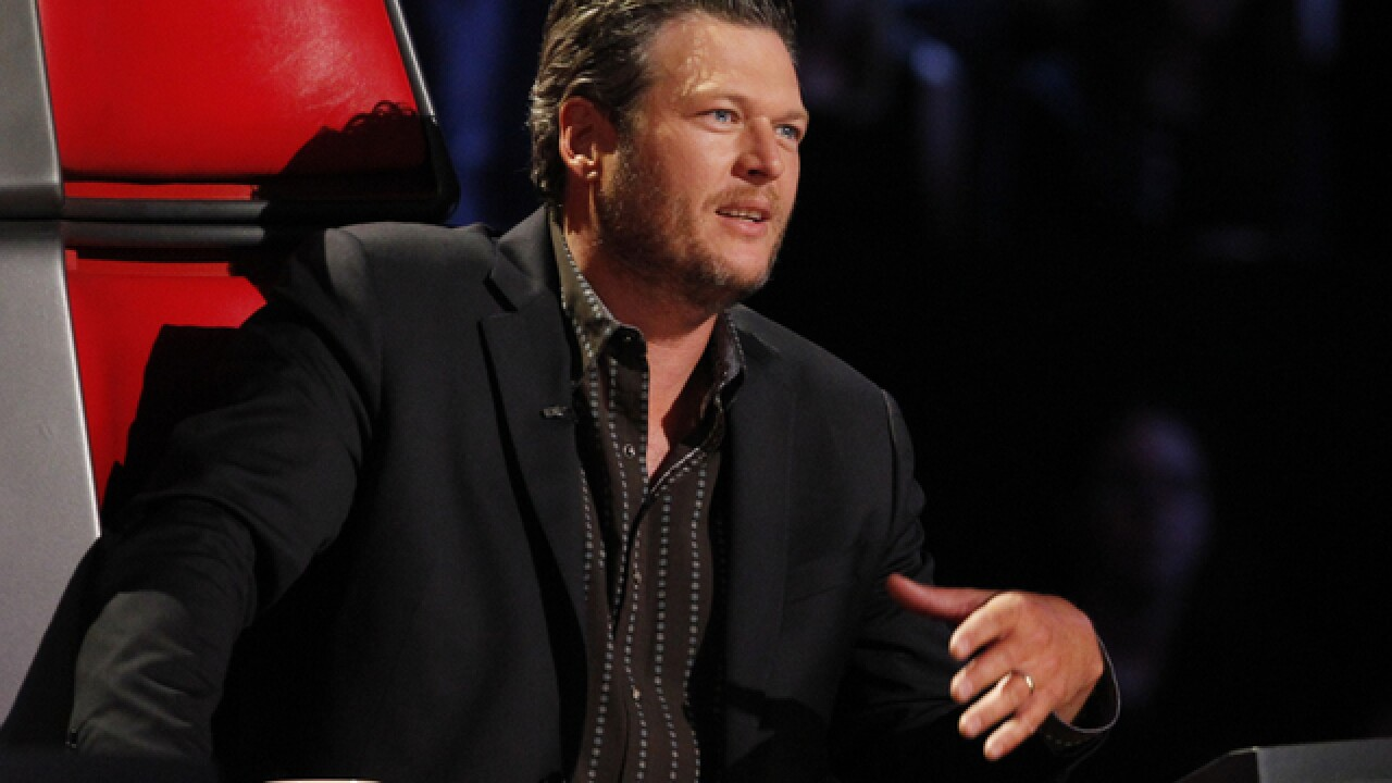 Blake Shelton with long hair: Well before The Voice, the country singer sported a mullet