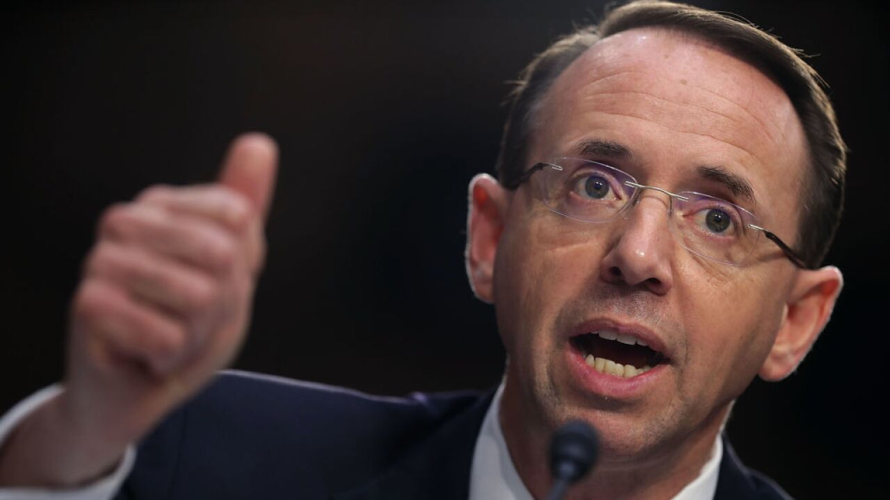 After overseeing Mueller probe, Deputy Attorney General Rod Rosenstein resigns