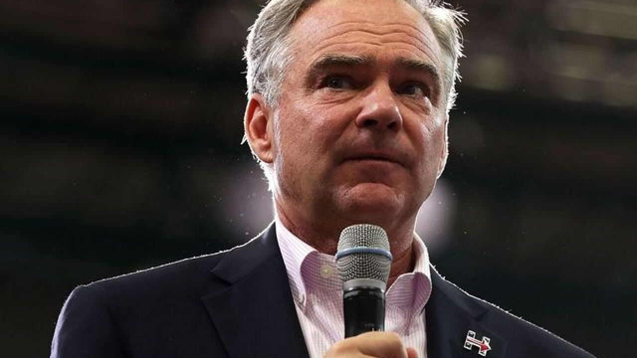 'They call me Lil Kaine': Tim Kaine shares his rap name with America