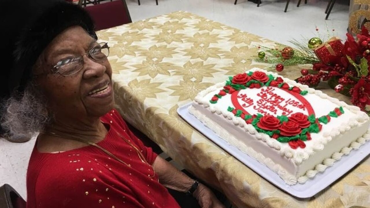 Forest Park woman celebrates 105th birthday