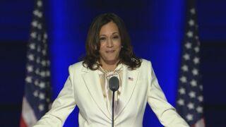 Vice President-elect Kamala Harris inspiring members of her historically Black sorority