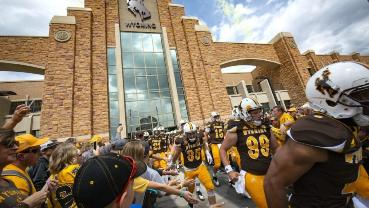 Game time announced for Wyoming-Texas State on September 7
