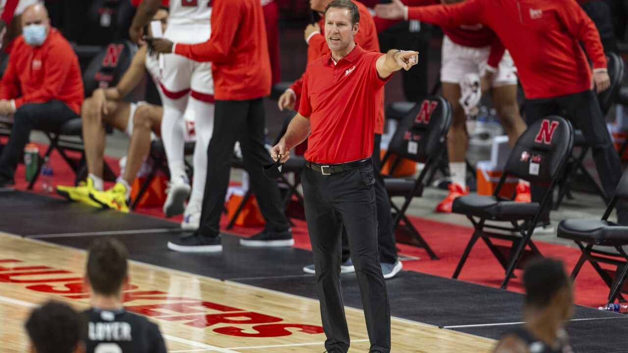 Fred Hoiberg Michigan St Nebraska Basketball