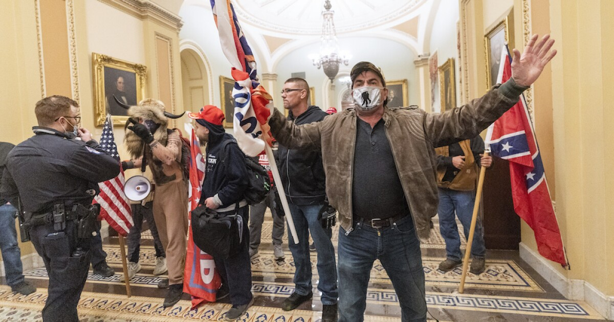 Ohio man threatened to shoot 'enemy combatants' during Capitol riots, feds say