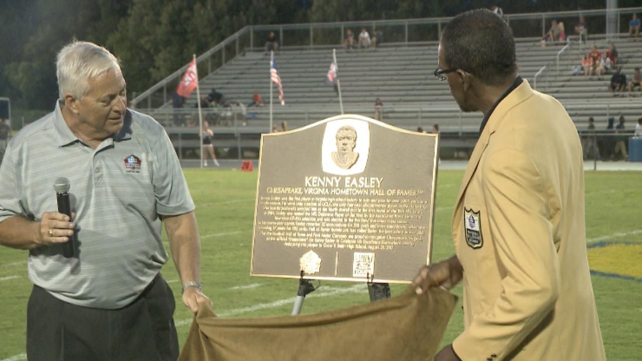 Chesapeake's Kenny Easley returns to Oscar Smith as a Pro Football Hall ofFamer