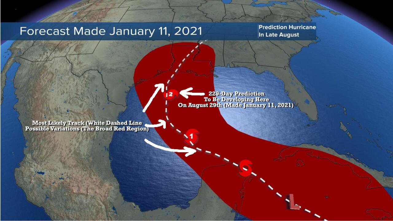 Tropical Prediction 7 Months Ago