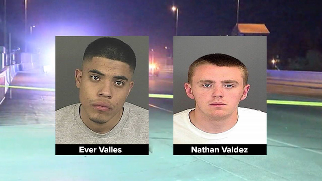 Two teens formally charged with murder, robbery for Denver light rail killing