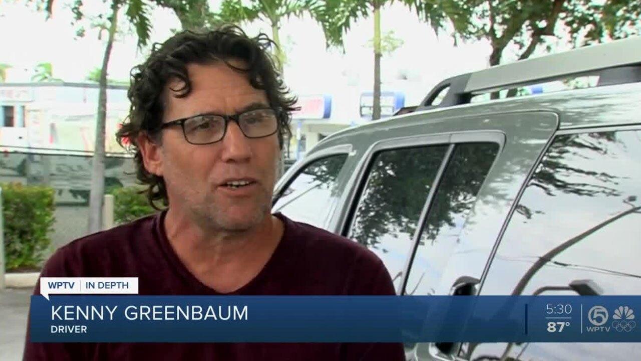 Driver Kenny Greenbaum