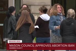 Mason votes to criminalize abortions within city limits
