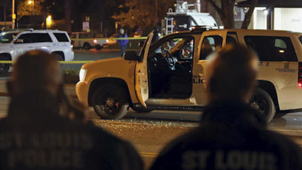 4 police officers shot nationwide on Sunday