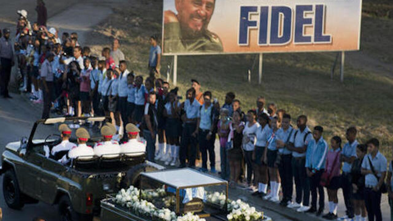 Fidel Castro's ashes interred in Cuba