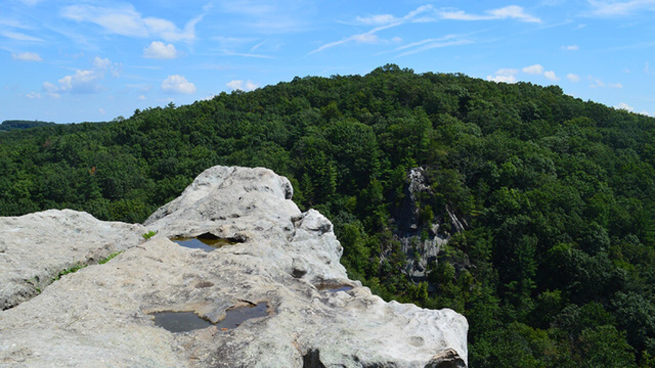 Experience a royal view at Rocks State Park