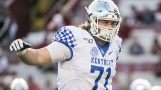 Detroit Lions trade back, pick Kentucky G Logan Stenberg in the 4th round of the NFL Draft