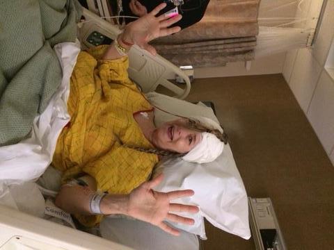 Photos: Woman says Aurora hospital's failure led to brain damage