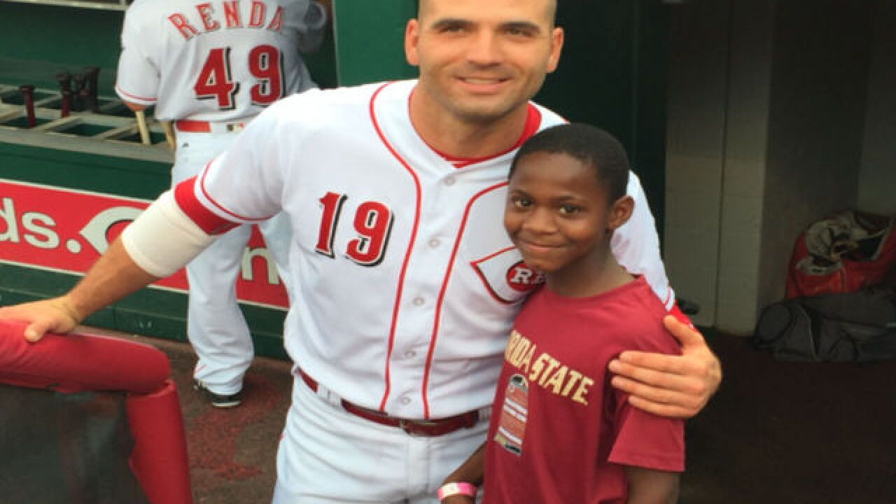 Captain for a day: Local nonprofit partners with Reds to offer life-changing experiences