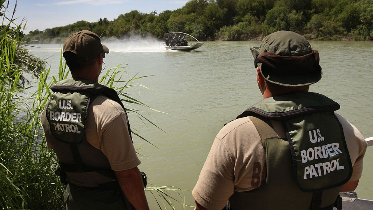 Authorities search the Rio Grande River for a missing 2-year-old
