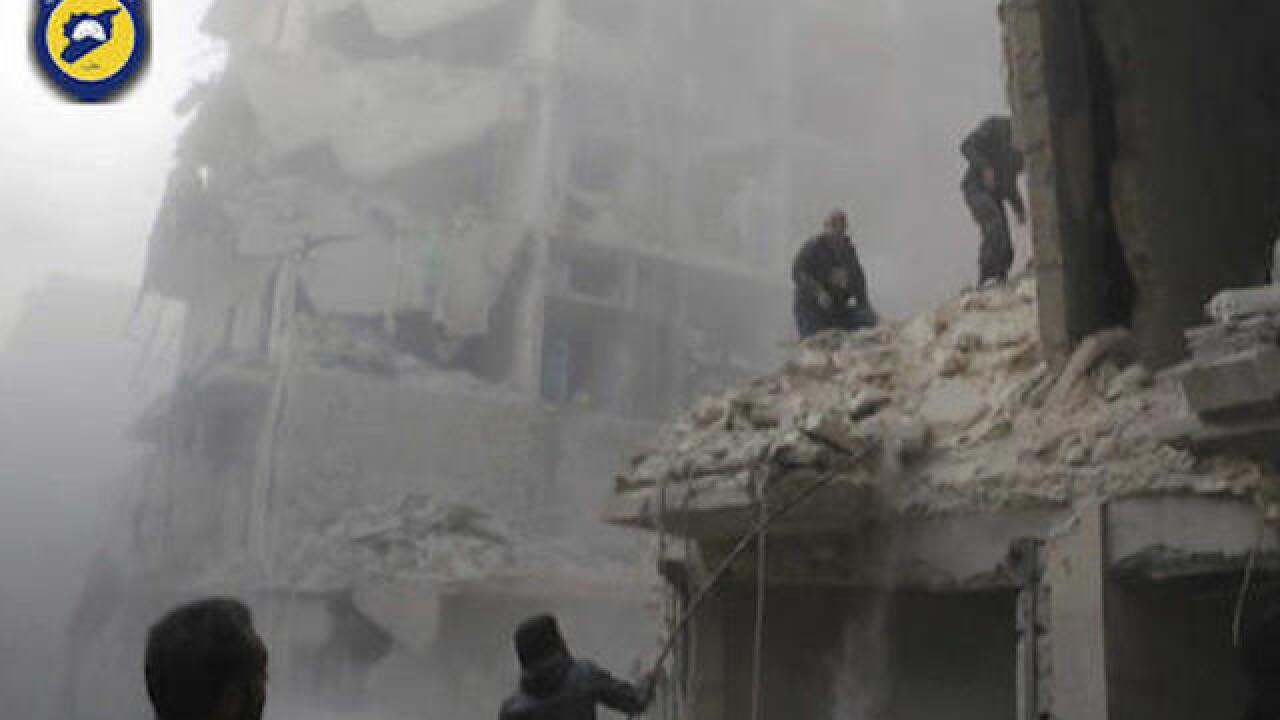 20 killed in Aleppo on fifth straight day of intense assault